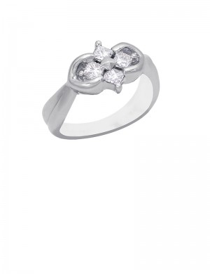 0.54ct Diamond 18K Gold Ring