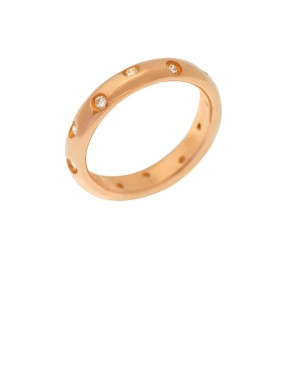 0.24ct Diamond 18K Gold Ring
