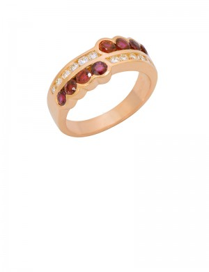 1.22ct Ruby 18K Gold Ring