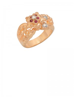 0.19ct Ruby 18K Gold Ring