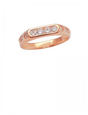 0.58ct Diamond 18K Gold Ring