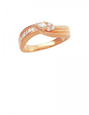 0.23ct Diamond 20K Yellow Gold Ring