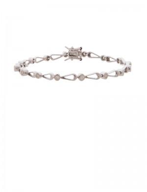 0.35ct Diamond 18K Gold Bracelet