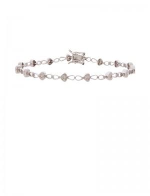 0.43ct Diamond 18K Gold Bracelet