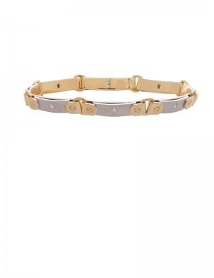 0.31ct Diamond 18K Gold Bracelet