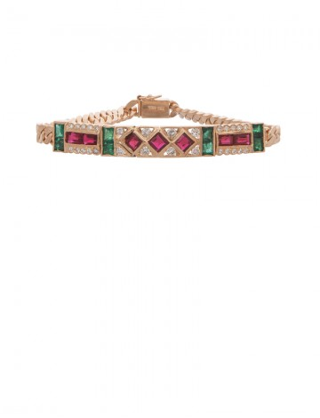 jewellery bracelet en online diamond gold ruby gemstone emerald