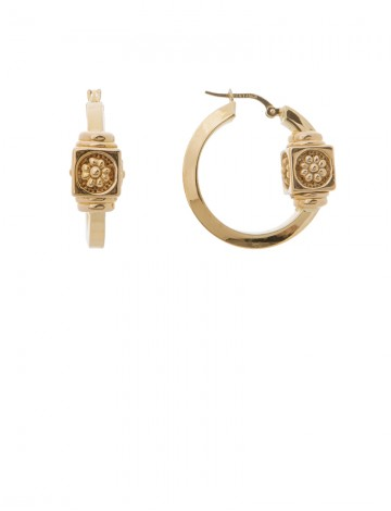 6 50 Gram 18k Italian Gold Earrings