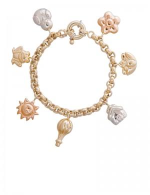 25.50gram 18K Italian Gold Bracelet