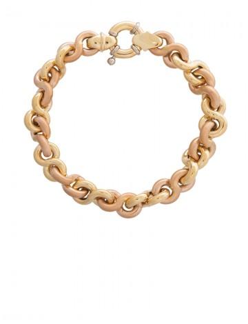 21 50 Gram 18k Italian Gold Bracelet