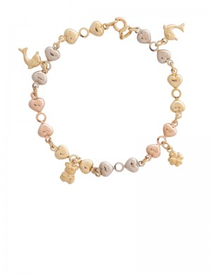 8.70 gram 18K Italian Gold Bracelet
