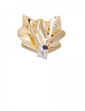 8.60 gram 18K Italian Gold Brooch