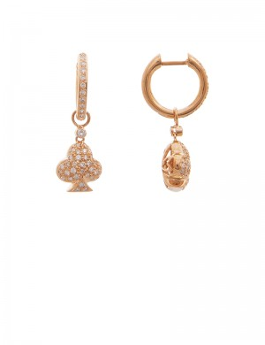 0.57ct Diamond 18K Gold Earrings