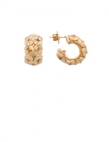 6 51 Gram 18k Italian Gold Earrings
