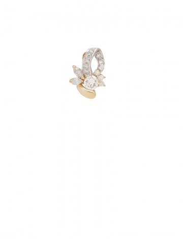 0.64ct Diamond 18K Gold Pendant