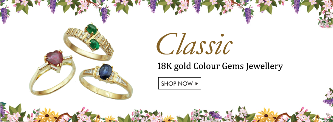Classic Colour Gem Jewellery